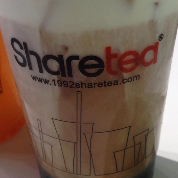 Black Tea Creama @ Sharetea