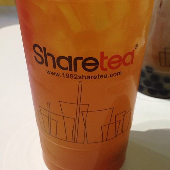 Passion Fruit Orange And Grapefruit Green Tea @ Sharetea