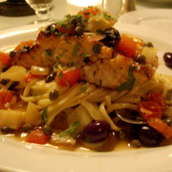 Salmon - Colombo's Italian Steakhouse & Jazz Club, Eagle Rock, CA