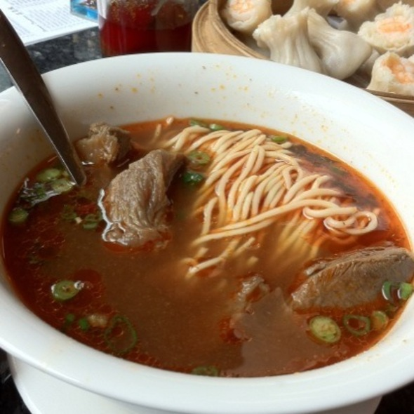 Beef Braised Soup With Noodle @ 鼎泰豐 Din Tai Fung Restaurant