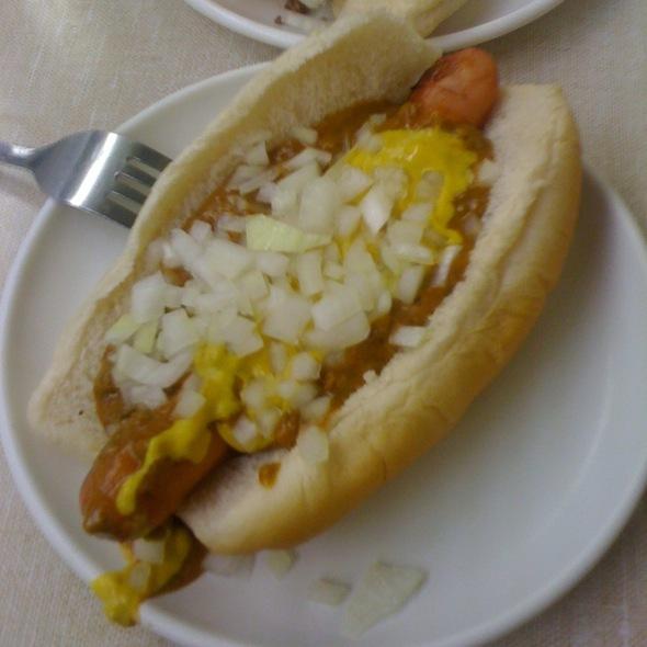 Coney Island Hot Dog @ Lafayette Coney Island