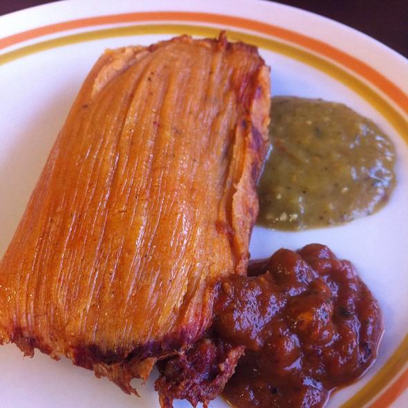 Pork Tomales @ El Limon