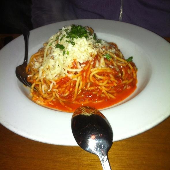 Spaghetti @ Emmy's Spaghetti Shack