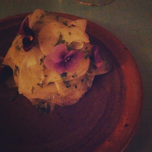 Salade De Topinambour @ Au Passage