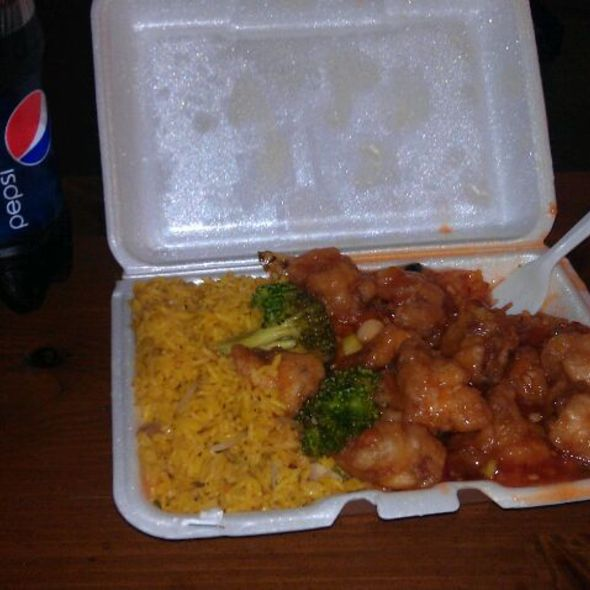 General Tso's Chicken @ Temple Star Chinese