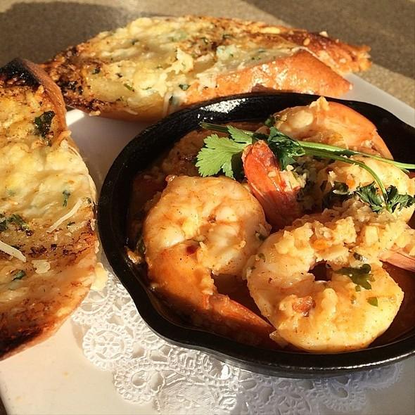 Spicy Spanish Shrimps - Poseidon, Del Mar, CA