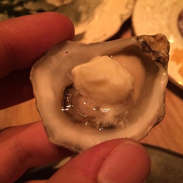 Oysters Horseradish Sorbet - Rose. Rabbit. Lie. at The Cosmopolitan of Las Vegas, Las Vegas, NV