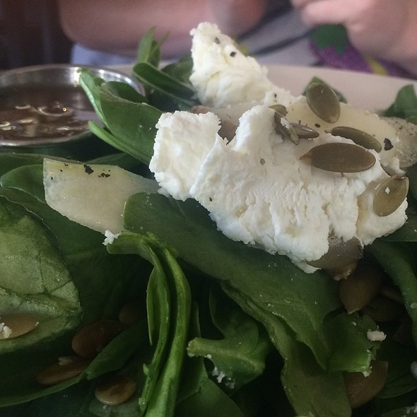Goat Cheese And Pear Salad  @ Local Republic