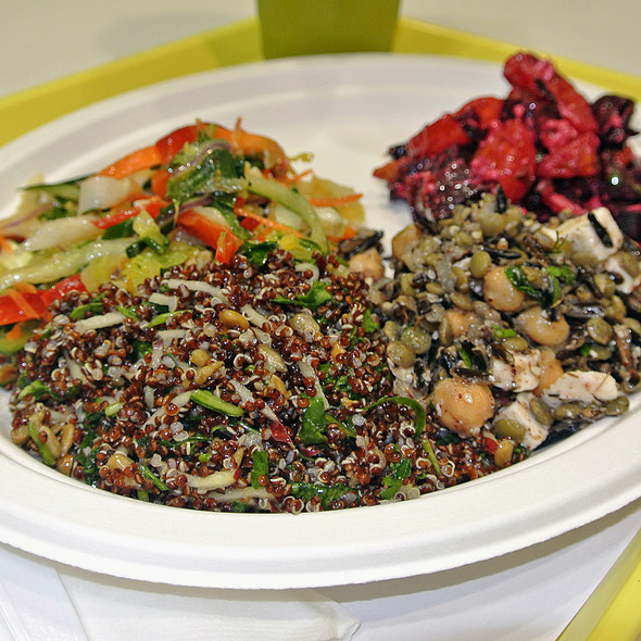 Quinoa, Lentils, Beets, Thai Slaw @ Lemonade