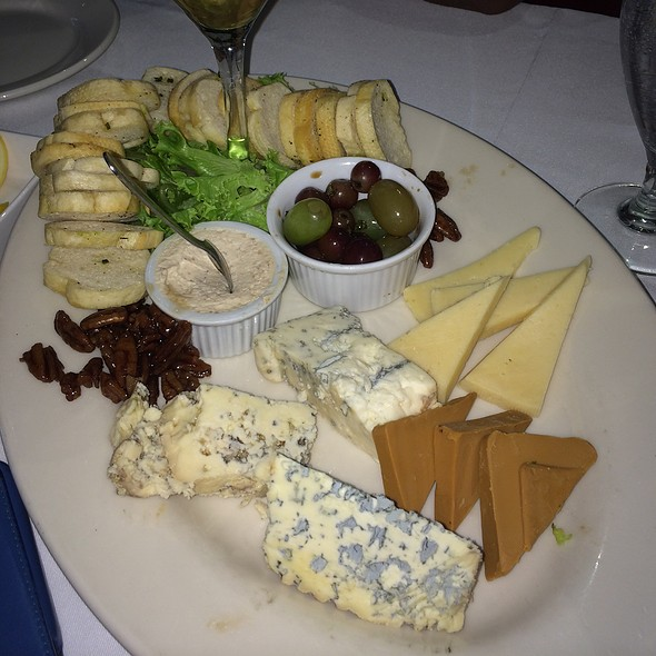 Five Cheese Artisinal Cheese Plate And Accompaniments - Johnny V, Fort Lauderdale, FL