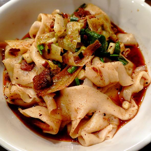 Spicy Cumin Lamb Biang-Biang Noodles @ Biang!