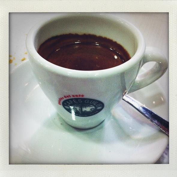 Café Solo @ Restaurante la Cazuela