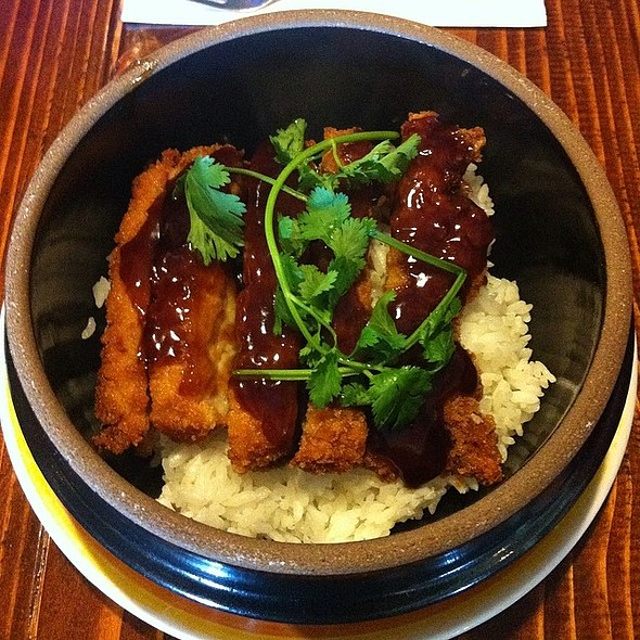 Katsu Chicken @ Hot Fusion Oriental Bistro And More