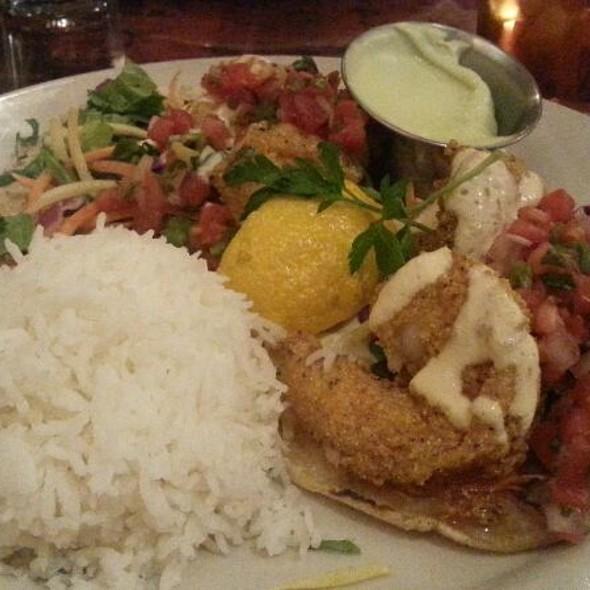 Shrimp Tacos @ Uptown Cafe