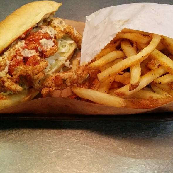Softshell Crab Sandwich @ Oklahoma Joe's BBQ