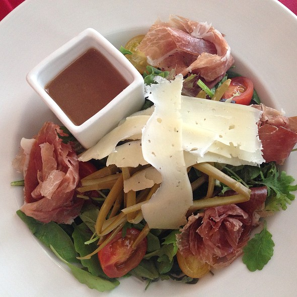 Asparagus and Prosciutto Salad @ The Class Act Restaurant