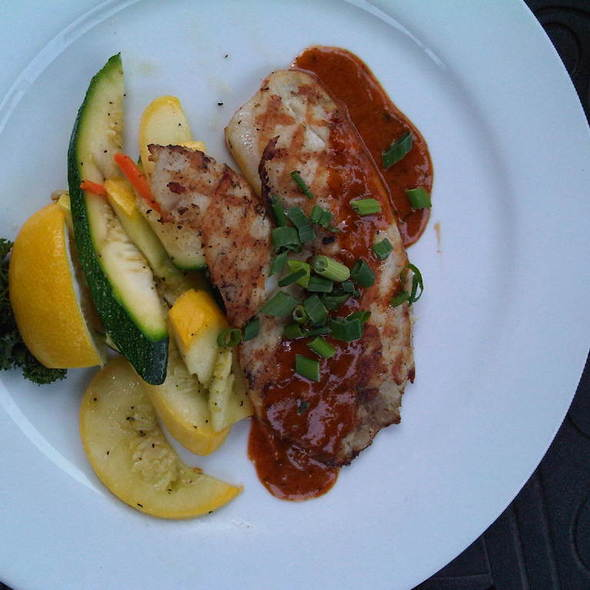 Grilled Tilapia @ m & s grill baltimore harborplace