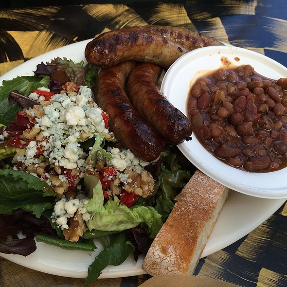 Pork And Lamb Sausage Plate