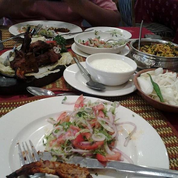 Garlic Naan Bread @ Haandi Indian Cuisine