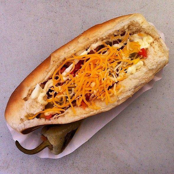 Sonoran Hot Dog @ El Rey Hot Dogs