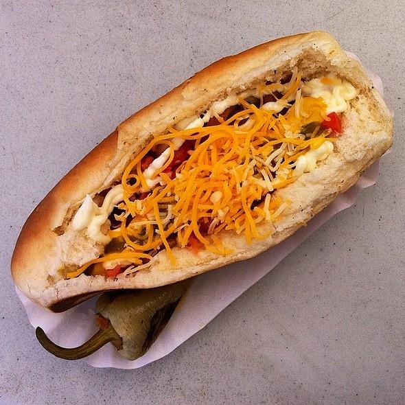 Sonoran Hot Dog @ El Rey Hot Dogs