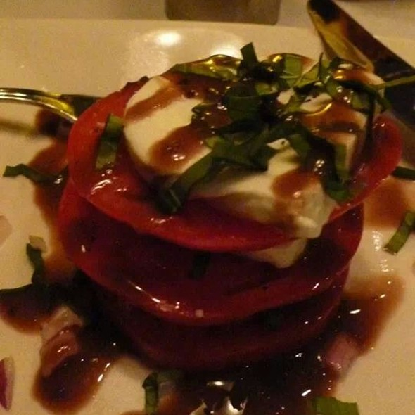 Caprese Salad With Balsamic Vinaigrette - Mile High Steak & Seafood, Glen Mills