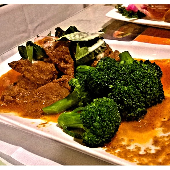 Simmered Panang Pork Curry