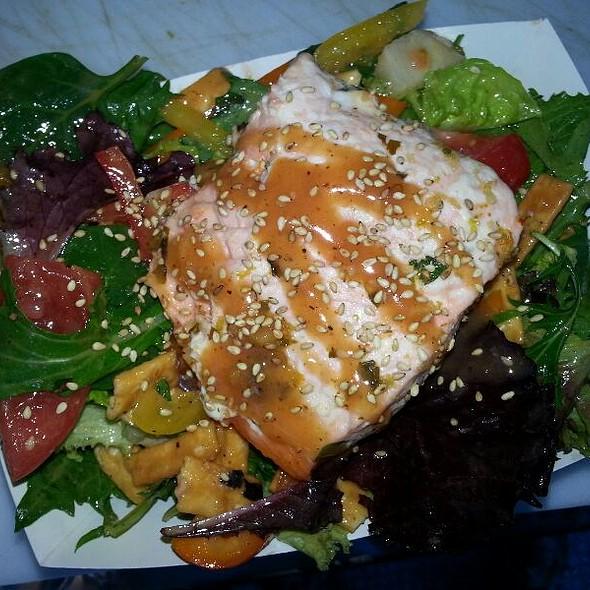 Sriracha Salmon Salad @ Savourie Streets Food Truck