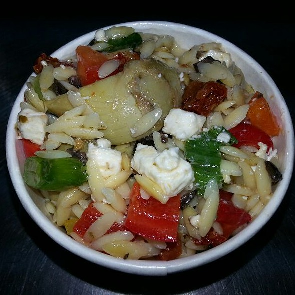 Orzo Pasta Salad @ Savourie Streets Food Truck