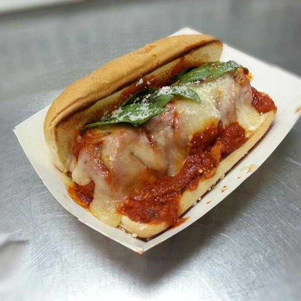 Meatball Hoagie @ Savourie Streets Food Truck