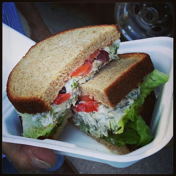 Chicken Salad Sandwich @ Savourie Streets Food Truck