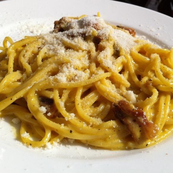 Spaghetti Carbonara @ Da Giovanni Ar Galletto