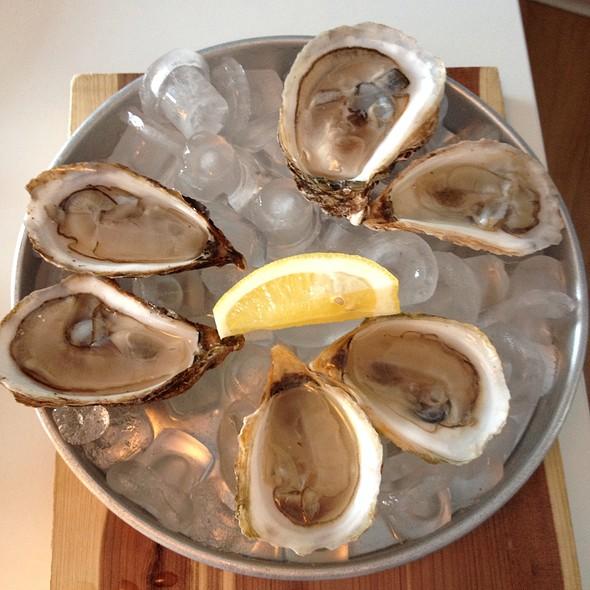 Half Dozen Oysters On A Half Shell @ PUBLIC Kitchen & Bar