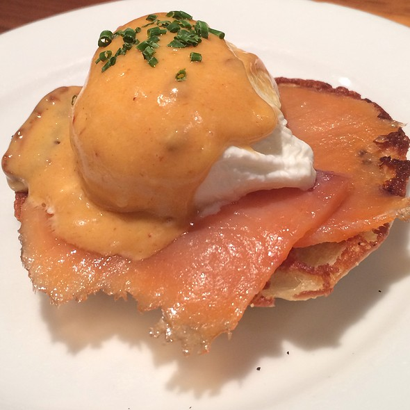 Smoked Salmon Benedict - Local Kitchen & Wine Merchant, San Francisco, CA