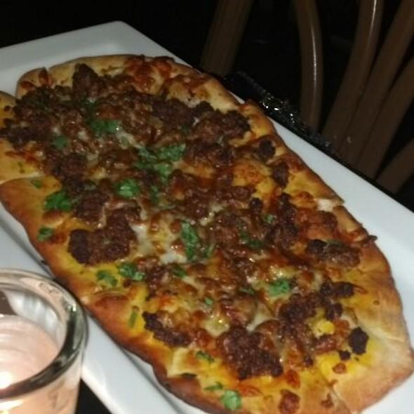 Chorizo Flat Bread @ Cueva Bar