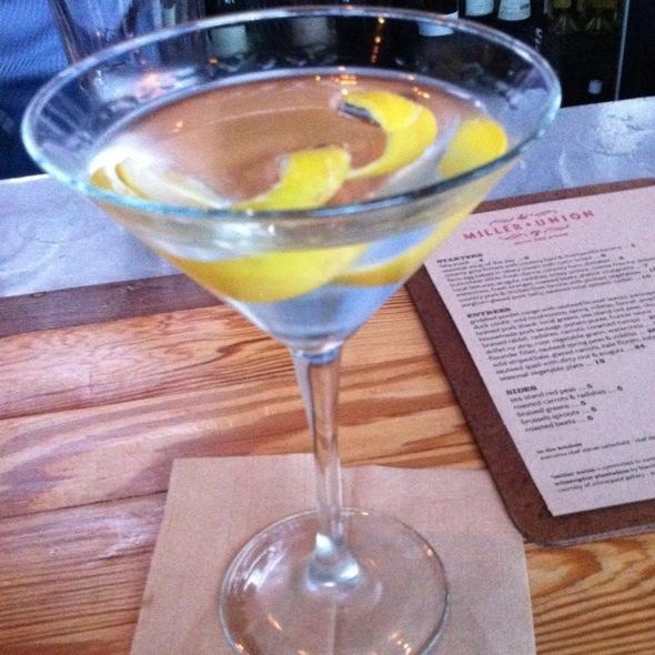 Dry Martini @ Miller Union