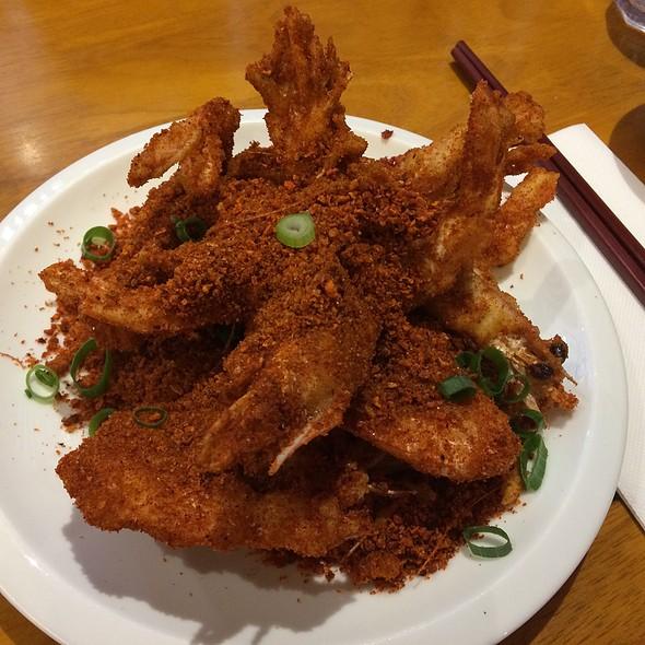 Soft Shell Prawn With Spicy Garlic @ Spicy Fish Restaurant