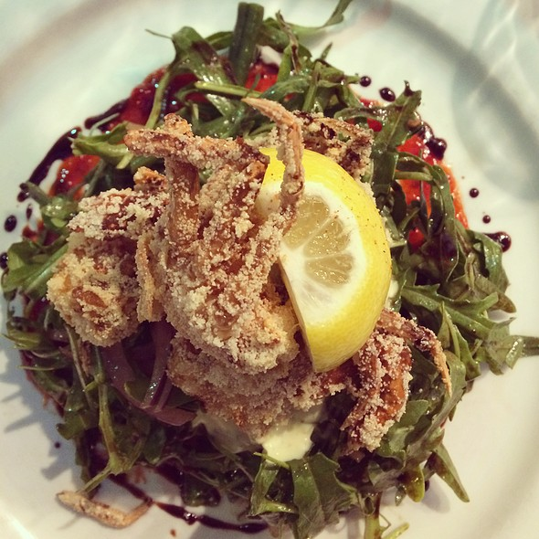 Soft Shell Crab Salad @ Solarino