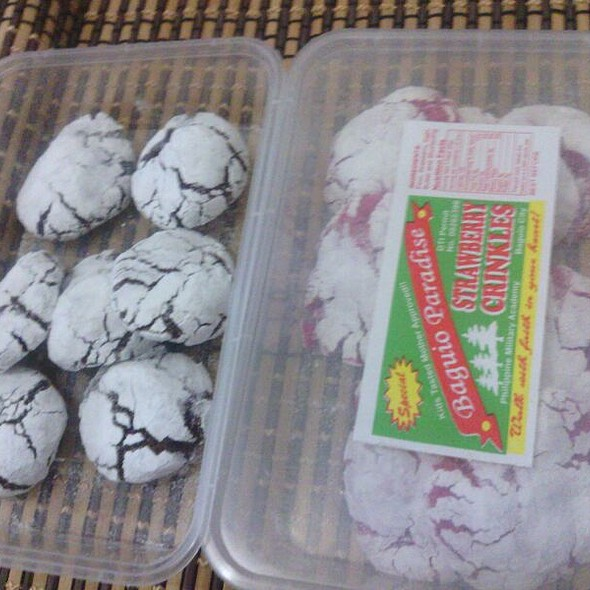 Strawberry Crinkles @ philippine military academy baguio city