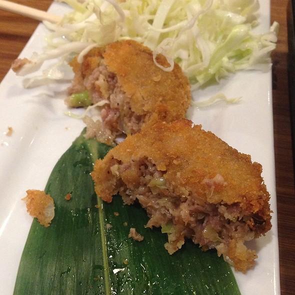 Menchi Katsu @ Fujiyoshi Ramen