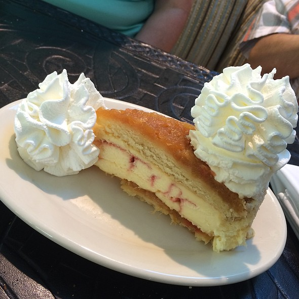 Pineapple Upside Down Cheesecake at The Cheesecake Factory