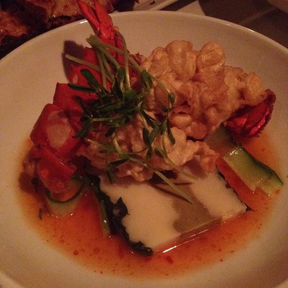 Lobster Tempura With Potato And Avocado Terrine - Belvedere Inn Restaurant and Bar, Lancaster, PA