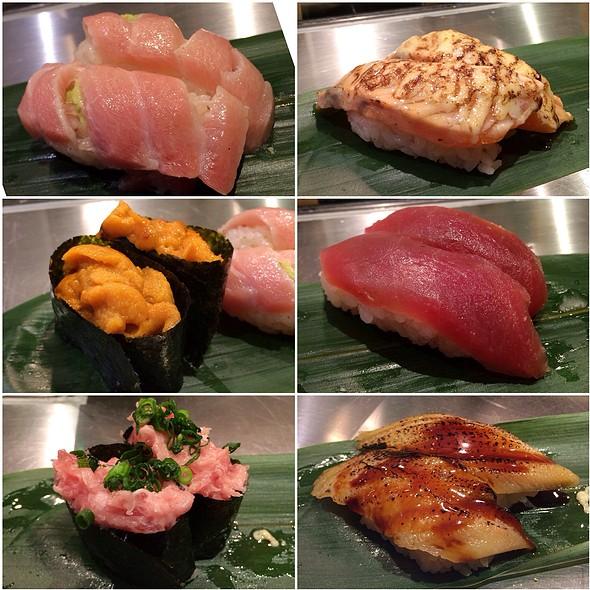 Sushi @ Standing Sushi Bar Shibuya