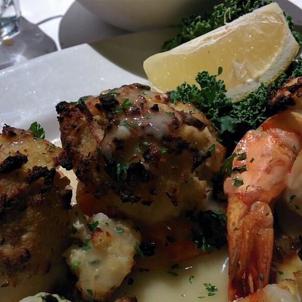 Crab Stuffed Shrimp - Frank's Steaks - Jericho, Jericho, NY