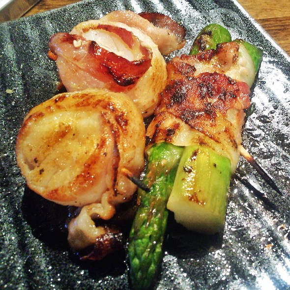 Bacon Wrapped Scallop @ Gyu Kaku Houston