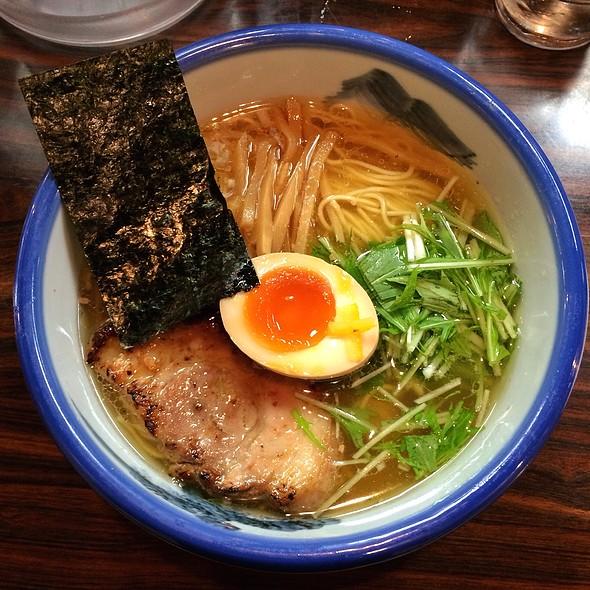 Yuzu Shio Ramen / ゆず塩麺 @ AFURI