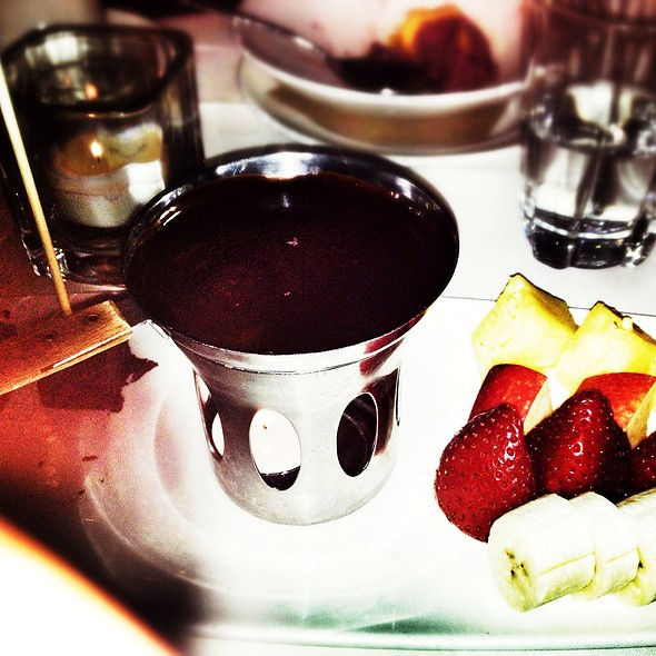 Chocolate Fondue - Metropolis Oyster Room and Cocktail Bar, New York, NY