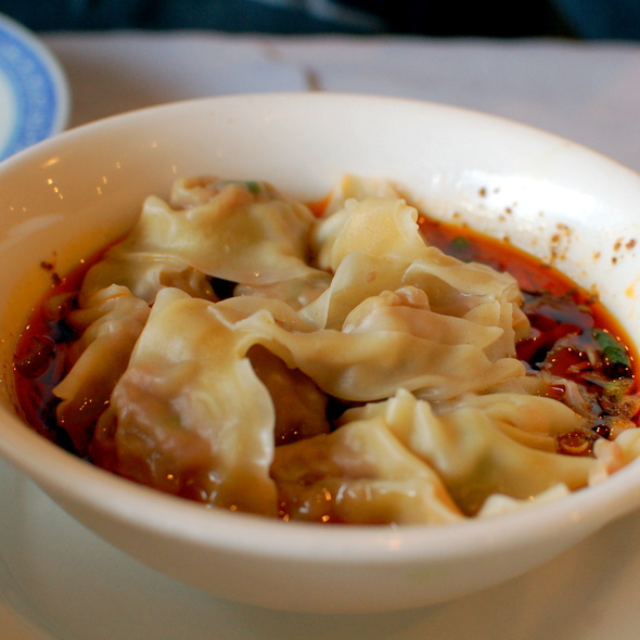 Wonton in Chili Sauce @ Joy Restaurant