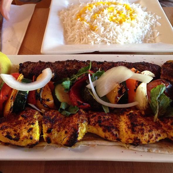 Kebab Combo Platter @ Lavash