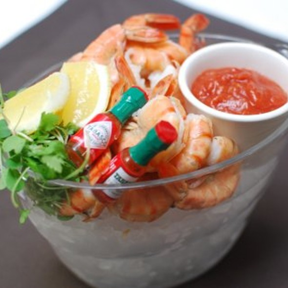 Peel and Eat Shrimp - Lakeview Bistro at The Westin Bonaventure Hotel, Los Angeles, CA